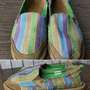 Sanuk shoes size 8